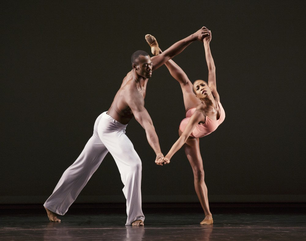 AAADT's Akua Noni Parker and Jamar Roberts in Christopher Wheeldon's After the Rain Pas De Deux. Photo by Paul Kolnik (3)