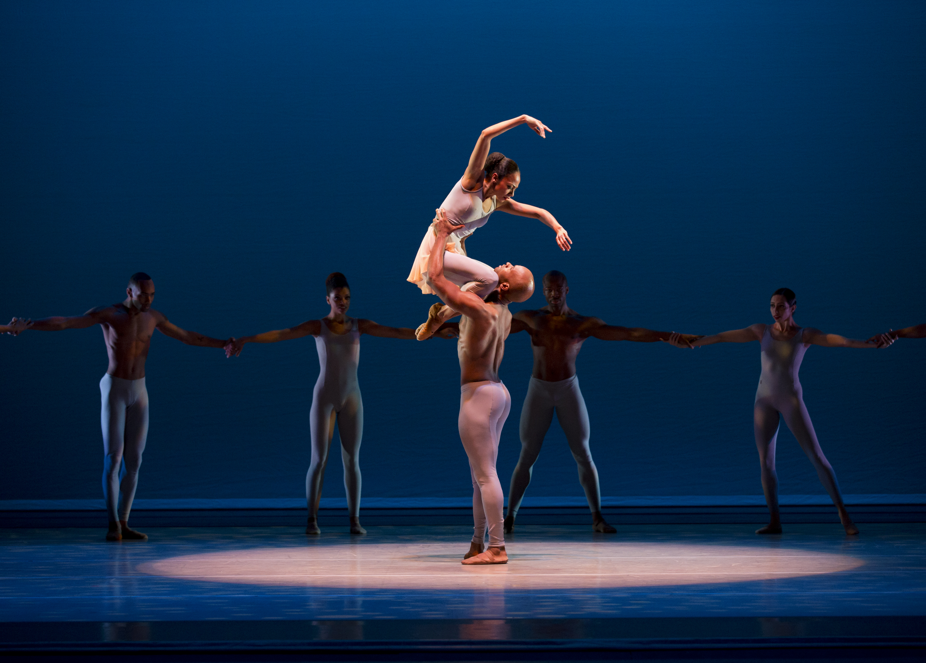 Alvin Ailey American Dance Theater in Alvin Ailey's The River.  Photo by Paul Kolnik_03