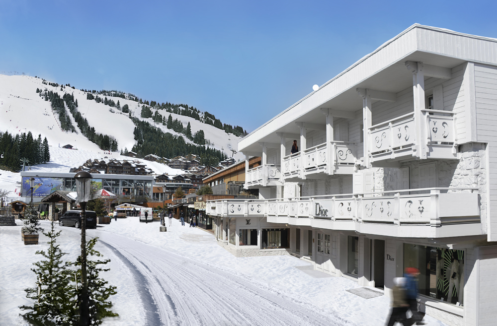 White1921 Courchevel Facade